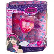 Набор детской декор. косметики Bondibon Eva Moda, BOX 20,9*8,8*24,8 см; косметичка-браслет, тени для