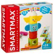 Магнитный конструктор SmartMax/ Bondibon, Мой первый тотем,  8 дет., 24 задания, арт. SMX 230.