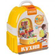 Набор игровой в чемоданчике 23х13х24,5 см, 25 дет., Bondibon, кухня, арт. 7F705.
