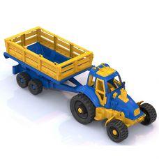 396 Трактор с прицепом grt-Р97655 НОРДПЛАСТ 511 р. Транспорт простой (без механизмов)