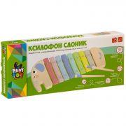 Игр. муз. деревянная Bondibon ксилофон СЛОНИК, BOX