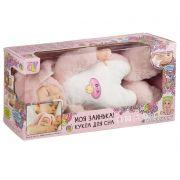 Кукла Oly Bondibon, Зайка для сна 41cм, розовый, озвучен.,мягкое тулов.,ВОХ 38х19х18 см, арт.3351-3.
