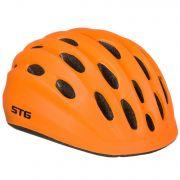 Шлем STG , модель HB10-6, размер  M(52-56)cm оранж, с фикс застежкой.