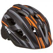 Шлем STG , модель HB3-5_B  , размер  XS(44-48)cm черн, с фикс застежкой.