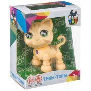 Котёнок BABY YOU Bondibon озвученный, подвижн. конечности и голова, опускает глаза, BOX 13x6,5x16см,