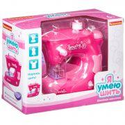 Игр. пластм. швейная машинка Bondibon «Я УМЕЮ ШИТЬ», розовая, BOX