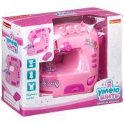 Игр. пластм. швейная машинка Bondibon «Я УМЕЮ ШИТЬ», нежно-розовая, BOX