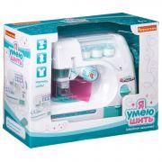 Игр. пластм. швейная машинка Bondibon «Я УМЕЮ ШИТЬ», белая, BOX