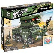 Конструктор Bondibon, Военный Десант, Зенитная установка, 450 дет., BOX