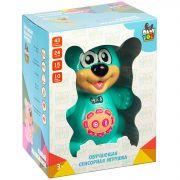Умный медвежонок BABY YOU Bondibon, свет.,музык.,обучающие функций, сенсор. кнопки, цвет голубой,арт