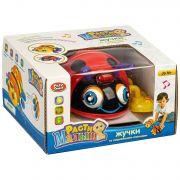 Жук на бат., Расти Малыш, Play Smart BOX 16,5х15х10 см, цвет красный, арт. 9443.
