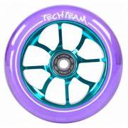 Колесо для самоката X-Treme 110мм PO,transparent purple, 2000510364041